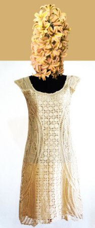 Vestido Renda Renascença