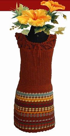 Vestido Zaila (Crochê). Veste 40/42
