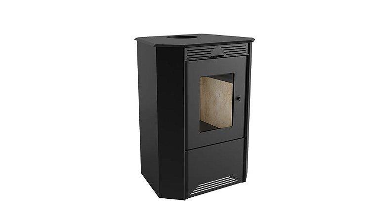 Calefator de Dupla Combustão 1090GF - Grande + Kit instalação em aço inox Metávila