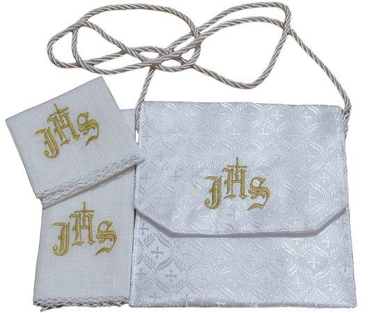 kit Viatico para levar a Santa Eucaristia aos Enfermos -  com alfaias liturgicas