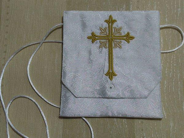 Kit Viático Cruz para levara a Santa Eucaristia aos enfermos - com alfaias cruz