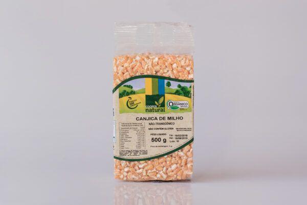 Canjica de milho orgânico