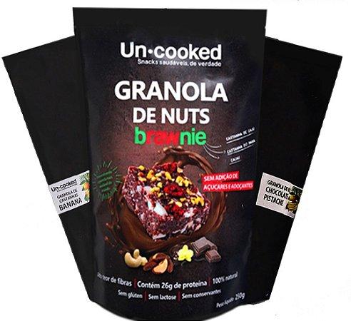 Granola de nuts - Raw