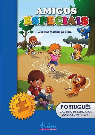 """Caderno de Exercícios de Português CONSOANTES """"N"""" a """"Z"""""""