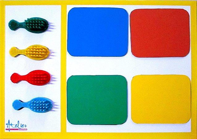 CORES Azul/Vermelho/Verde/Amarelo