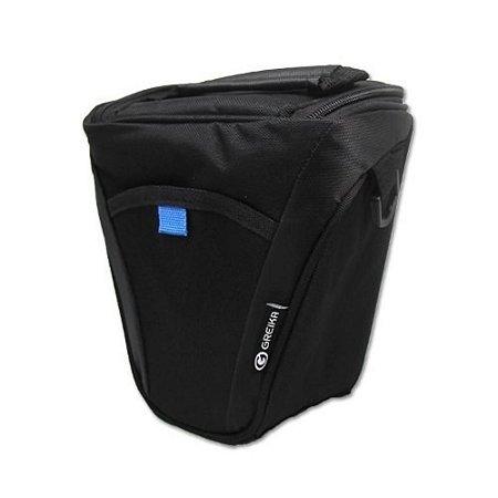 Bolsa Greika Xf-026r Para Câmeras Dslr E Acessórios