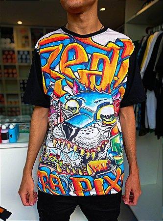 Camiseta Real Grapixo collab FB Osmo