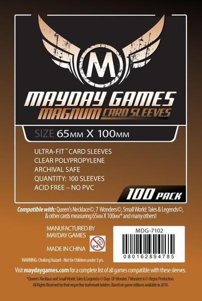 Magnun Copper Card Sleeve Mayday - 65 x 100 mm (pac. com 100)