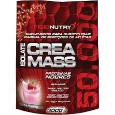 ISOLATE CREA MASS 50.000 (3KG) - FISIONUTRY