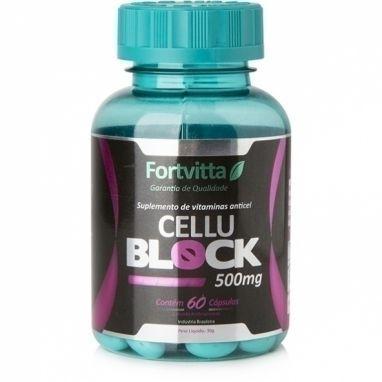 CELLU BLOCK 500MG- 60 CÁPSULAS- FORTVITTA