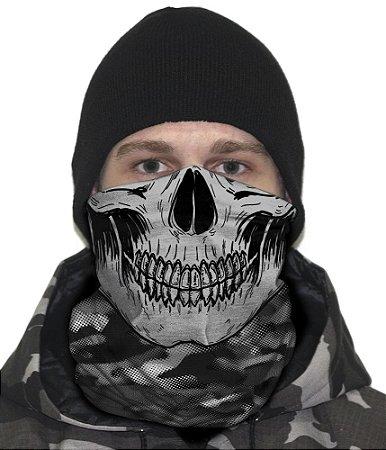 Face Armor Caveira Camuflada Urban Black