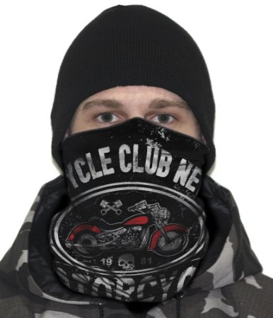 Face Armor Motorcycle Club New York 1981