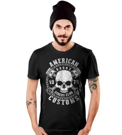 Camiseta Old Car American Skull