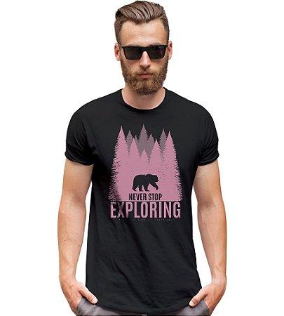 Camiseta Outdoor Never Stop Exploring