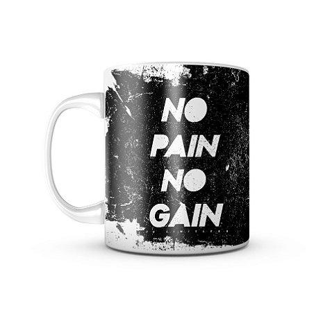 Caneca T6 Skull No Pain No Gain 325ML
