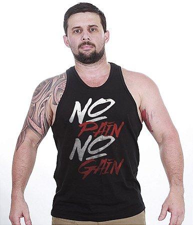 Camiseta Regata Academia No Pain No Gain