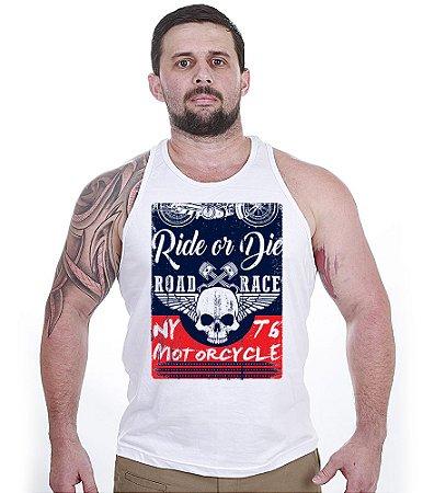 Camiseta Regata Motorcycle T6 Road Race