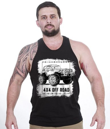 Camiseta Regata Off Road 4x4 Limitless