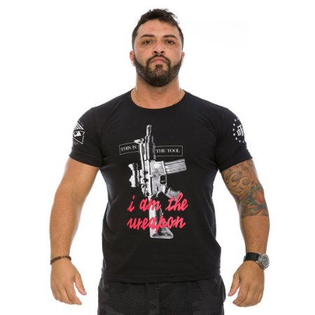 Camiseta Militar This Is The Tool I Am The Weapon