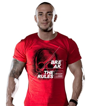 Camiseta Academia Break The Rules