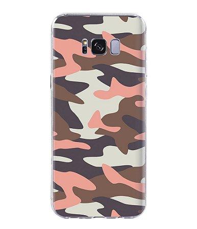 Capa para Celular Militar Camuflado Multicam Soft