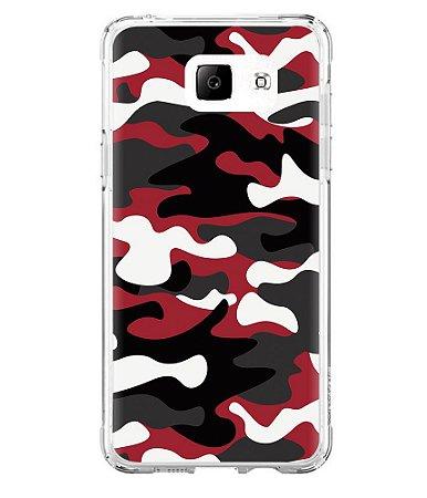 Capa para Celular Militar Camuflado Multicam Red