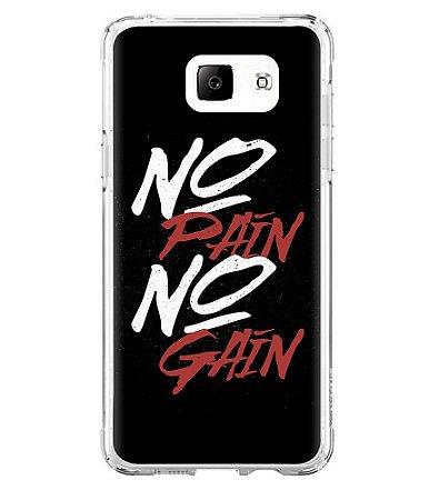 Capa para Celular No Pain No Gain Black