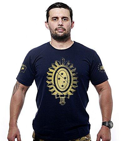 Camiseta Militar Exército Brasileiro Gold Line