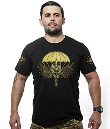 Camiseta Militar PARA-SAR Gold Line