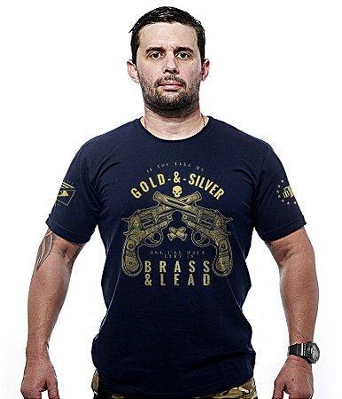 Camiseta Militar Gold & Silver Gold Line