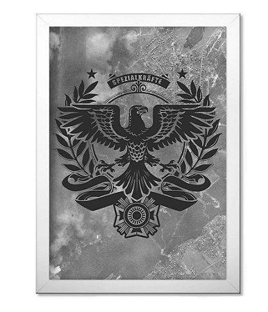 Poster Militar com Moldura Spezialkrafte Alemanha