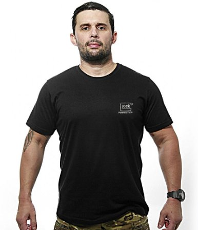 Camiseta Bordada GLOCK