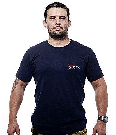 Camiseta Bordada Team GLOCK