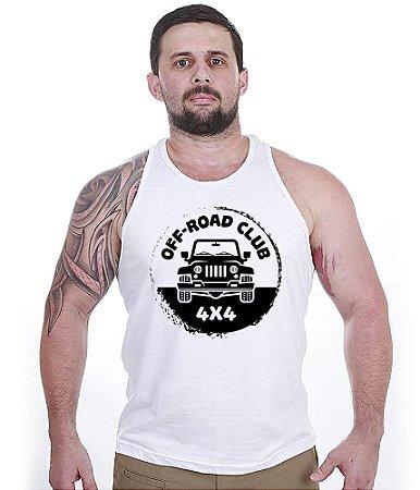 Camiseta Regata Off Road Club 4x4