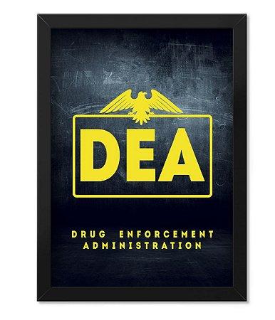 Poster Militar com Moldura DEA