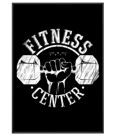 Poster Academia Fitness Center