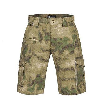 Bermuda Tática Militar Camuflada A-Tacs FG Invictus