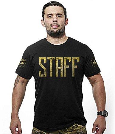 Camiseta Militar Staff Gold Line