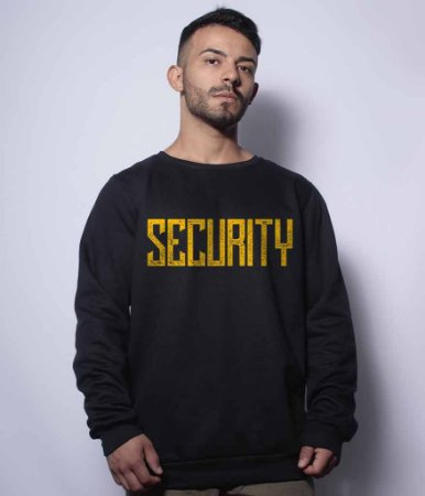 Casaco Básico de Moletom Security