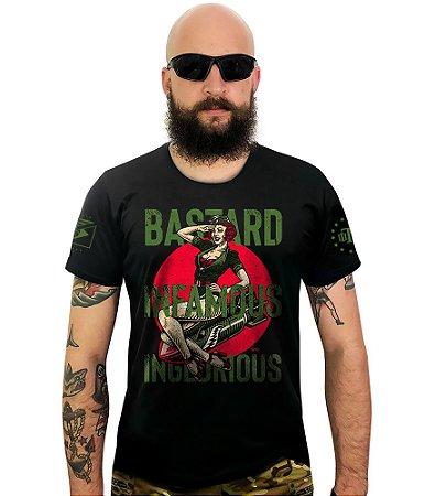 Camiseta Squad T6 Instrutor Fritz Bastard Infamous Inglorius