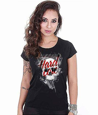Camiseta Academia Baby Look Feminina Hardcore Training Corp