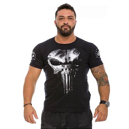 Camiseta Militar Punisher Plate Preta