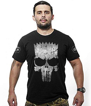 Camiseta Militar Punisher Bart