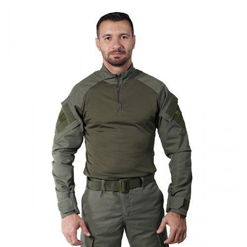 Combat Shirt Masculina Verde Bélica Steel