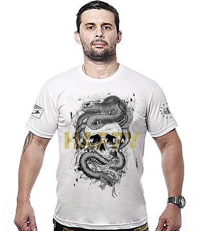 Camiseta Militar Happy New Year Liberty Or Death