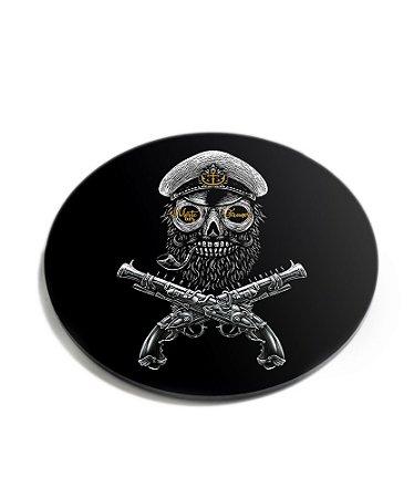 Porta Copos Militar Morte Aos Tiranos Acrílico
