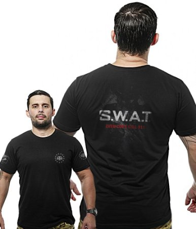Camiseta Militar Wide Back S.W.A.T