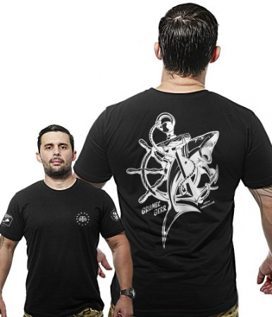 Camiseta Militar Wide Back Grumec