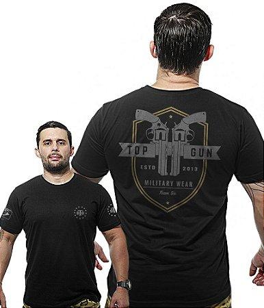 Camiseta Militar Wide Back Top Gun