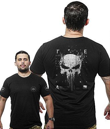 Camiseta Militar Wide Back New Punisher